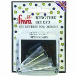 FMM 5,6 & 7 Icing Tube Set Open Stars