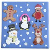 Patchwork Cutter & Embosser Christmas Characters