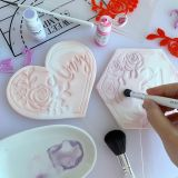 Sweet Stamp Rose Frame Embossing Elements