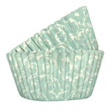 SK Cupcake Cases Baroque Duck Egg Blue Pack of 36