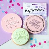 Sweet Stamp OUTboss Expressions Elegant Happy Birthday