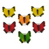 Butterfly Sugarcraft Toppers Set of 6