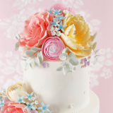 SK SFP Sugar Florist Paste Soft Peach 200g