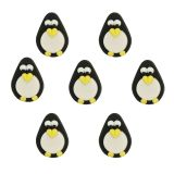 Penguin Sugar Decorations set of 7