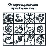 Patchwork Cutter & Embosser 12 Days of Christmas