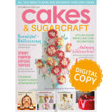 Cakes & Sugarcraft Magazine 159 - Digital Copy