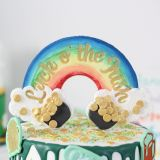 Sweet Stamp Blank Canvas Rainbow Blank Topper