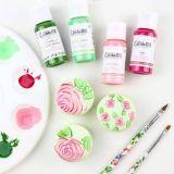 Sweet Sticks Edibleart Decorative Paint Pastel Green 15ml