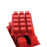 Silikomart Cube Mould Small 3.5cm Set of 15