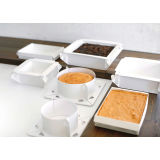BoxBake Square 10″ Pre-lined Cake 'Tin'