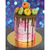 PME Rose Gold Mirror Cake Card Round 6 Inch