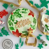 Sweet Stamp Christmas Foliage Embossing Elements