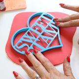 Sweet Stamp Blank Canvas Heart Cutter