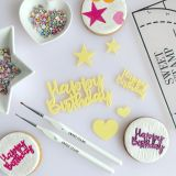 Sweet Stamp Happy Birthday Embossing Elements