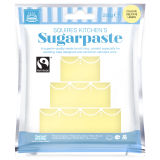 SK Fairtrade Sugarpaste Delicate Lemon 250g