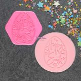 LissieLou Decorative Egg Cookie Stamp