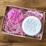 LissieLou Mr & Mrs Cookie Stamp