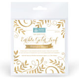 SK Edible Gold Leaf Transfer Sheets Pack of 25 sheets