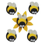 Sugar Bumble Bees - Set of 5