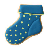 SK Baby Sock Cookie Cutter