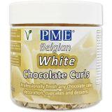 PME Chocolate Curls - White Chocolate (85g / 3oz)