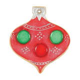 SK Rounded Teardrop Bauble Cookie Cutter