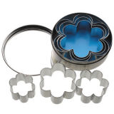 Kitchen Craft Mini Cookie Cutters Flower Set of 6