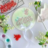 Sweet Stamp Traditional Christmas Embossing Elements