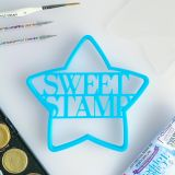 Sweet Stamp Blank Canvas Star Cutter