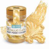 SK Designer Metallic Lustre Dust Gold Sparkles 7g