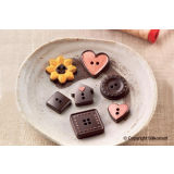 Silikomart EasyChoc Choco Buttons Chocolate Mould