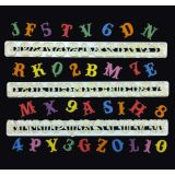 FMM Cutters Carnival Alphabet and Numbers Set