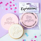 Sweet Stamp OUTboss Expressions Stay Positive