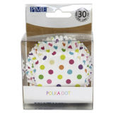 PME Polka Dot Foil Lined Baking Cases Pack of 30
