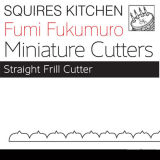 SK Fumi Miniature Cutter - Straight Frill