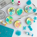 Sweet Stamp Tropical Vibes Embossing Set