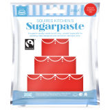 SK Fairtrade Sugarpaste Glamour Red 250g