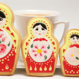 SK Russian Dolls Cookie Cutter Set
