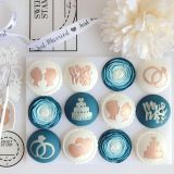 Sweet Stamp Wedding Day Embossing Elements