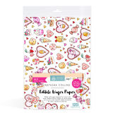 SK Edible Wafer Paper by Natasha Collins: Kawaii Hearts