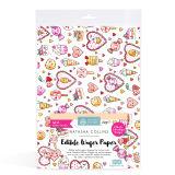 SK Edible Wafer Paper by Natasha Collins: Kawaii Hearts