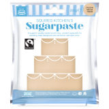 SK Fairtrade Sugarpaste Mocha Cream 250g