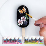 Paint Like a Professional Leaves Palette