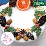 Katy Sue Designs Christmas Theme Decoration Moulds
