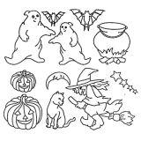 Patchwork Cutter & Embosser Halloween Set