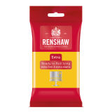 Renshaw Extra Ready to Roll Icing Yellow 250g