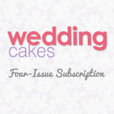 Wedding Cakes Magazine Subscription 4 Issues Starting with Next Issue (Winter 2016-17)