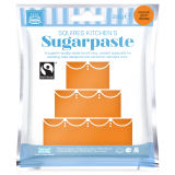 SK Fairtrade Sugarpaste Zesty Orange 250g