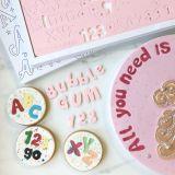 Sweet Stamp Bubblegum Embossing Set