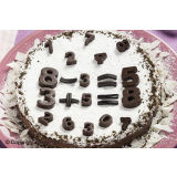 Silikomart EasyChoc Numbers Chocolate Mould